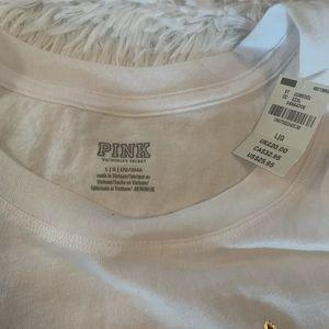 PINK Victoria's Secret Tops - VS PINK Logo Tee